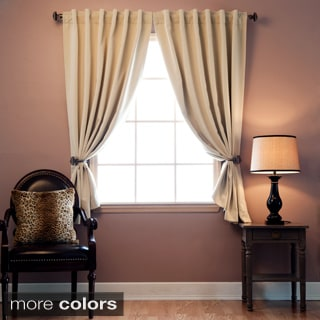 Insulated 72-inch Thermal Blackout Curtain Panel Pair
