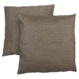 Abbyson Living Aspen 18-inch Light Two-tone Brown Decorative Pillows (Set of 2)