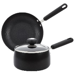 Circulon Three-piece Saucepan and Skillet Set