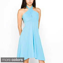 American Apparel Women's Convertible Jersey Bandeau Dress