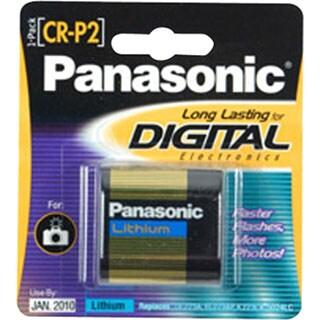 Panasonic CR-P2 Photo Lithium Battery Pack