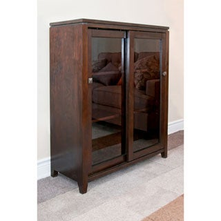 Essex Coffee Brown Medium Storage Media Cabinet & Buffet