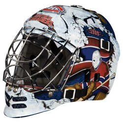 NHL Team Montreal Canadiens SX Comp GFM 100 Goalie Face Mask