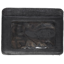 Boston Traveler Men's Leather Credit Card Holder