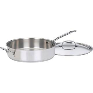 Cuisinart Stainless Steel 5.5-quart Saute Pan