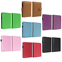 BasAcc Purple Leather Case for Amazon Kindle Paperwhite
