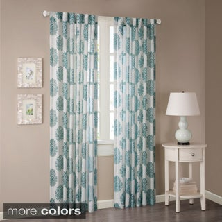 Madison Park Emerson Arabesque Curtain Panel
