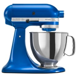 KitchenAid RRK150EB Electric Blue 5-quart Artisan Tilt Head Stand Mixer (Refurbished)