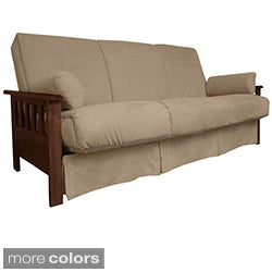 Provo Perfect Sit &amp; Sleep Mission-style Pillow Top Queen-size Sofa Bed