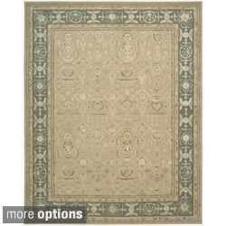 Nourison Hand-tufted Floral Regal Sand Rug