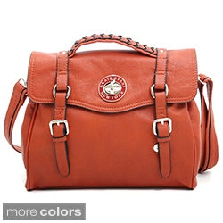Anais Gvani Briefcase-style Messenger Bag