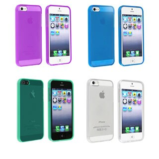 INSTEN TPU Phone Case Cover for Apple iPhone 5/ 5S