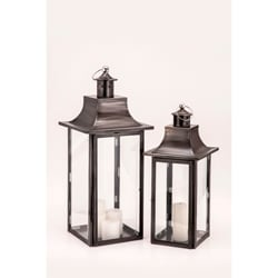 Empire Black Zinc Lantern