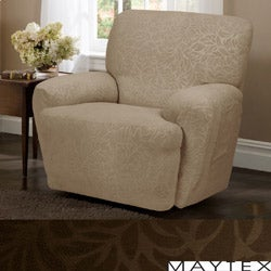 Maytex James Leaf 4-Piece Recliner Slipcover