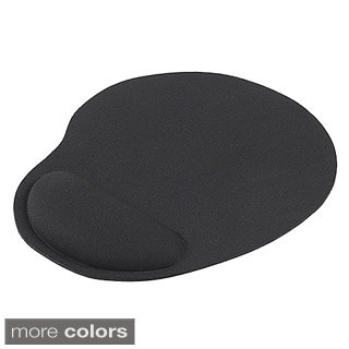 BasAcc Black Wrist Comfort Mouse Pad for Optical/ Trackball Mouse