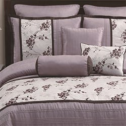 Heather Lilac 8-piece Comforter Set