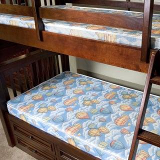 InnerSpace Balloon Bunk Bed 5-Inch Twin-Size Foam Mattress