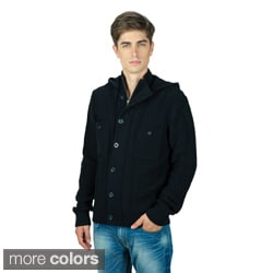 X Ray Jeans Men's 'Jonathen' Hooded Knit Sweater