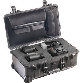 Pelican 1510LFC Case (1510LOC with Foam in the Base)