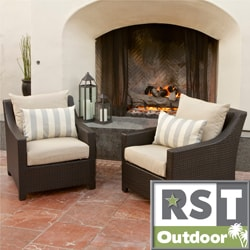 RST Slate Club Chair Patio Furniture (Pack of 2)
