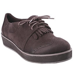 Liliana by Beston Women's 'Berkeley' Brown Oxford Shoes