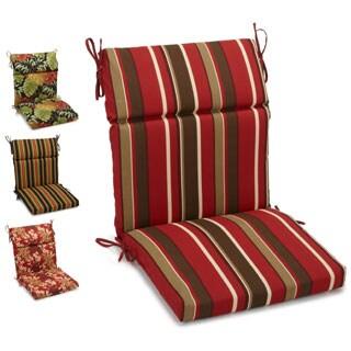 Blazing Needles 3-section Chair Cushion