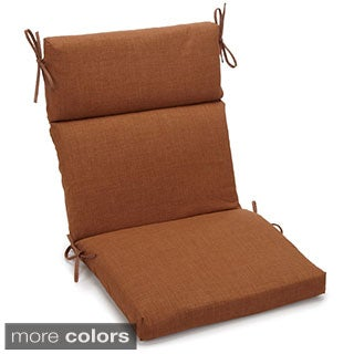 Blazing Needles 3-section Chair Cushion