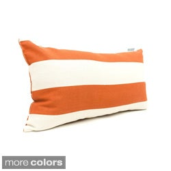 Majestic Home Goods Vertical Stripe Small Pillow