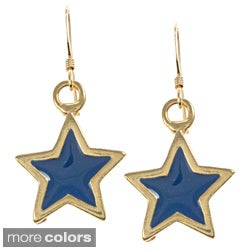 Kenneth Jay Lane Star Dangle Earrings