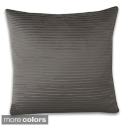 Anastasia Satin Pleat 19 x 19-inch Throw Pillow