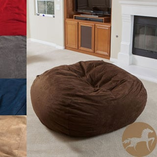 Christopher Knight Madison Faux Suede 5 Foot Bean Bag