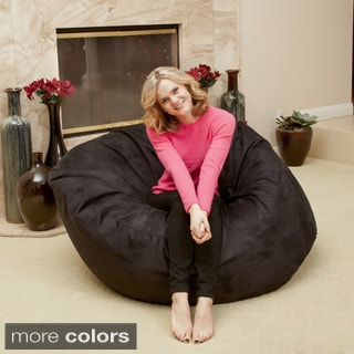 Christopher Knight Madison Faux Suede 5-foot Bean Bag