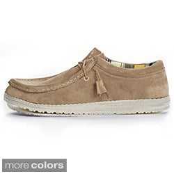 Hey Dude Men's 'Wally' Suede Slip-On Boat Shoes