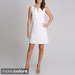 Grace Elements Women's Linen Shift Dress