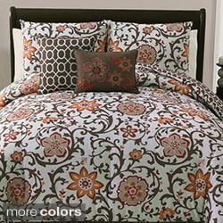 Calista 5-piece Reversible Comforter Set