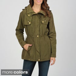 Utex Women&#39;s Water-Resistant Hooded Anorak