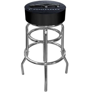 Trademark Officially Licensed GM Camaro Padded Bar Stool