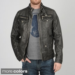 X-RAY Jeans Men's PU Moto Jacket