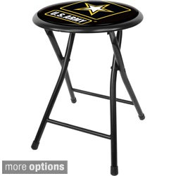 U.S. Army 18-inch Black Folding Stool