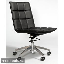 Gates Leatherette Adjustable Swivel Office Chair