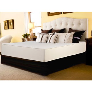 Select Luxury Reversible Firm 10-inch Queen-size Foam Mattress with EZ Fit Foundation