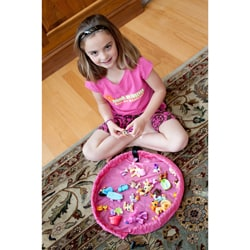 Lay-n-Go Lite 18-inch Pink Activity Mat