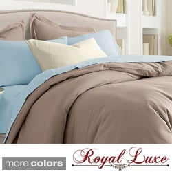 Royal Luxe Egyptian Cotton 1000 Thread Count Sateen Sheet Set