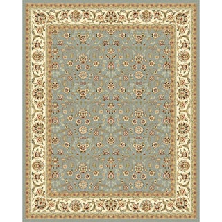 Safavieh Lyndhurst Floral Light Blue/ Ivory Rug (11' x 15')