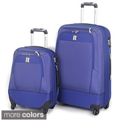 International Traveller 2-piece Double Expander Spinner Luggage Set