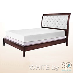 WHITE by Sarah Peyton 10-inch Traditional Plush Support Memory Foam Mattress and Pillow Set