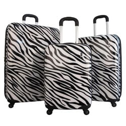 "Travel Concepts by Heys Safari Hardise Spinner Luggage Set or 20"", 26"", and 30"" Upright"