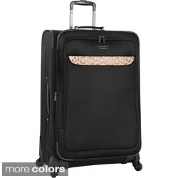 Anne Klein 2757C Cross Country 28-inch Expandable Spinner Upright Suitcase