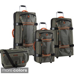Timberland Twin Mountain 4-piece Luggage Set