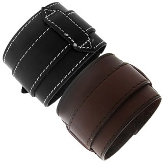 Moise Leather Adjustable Bracelet